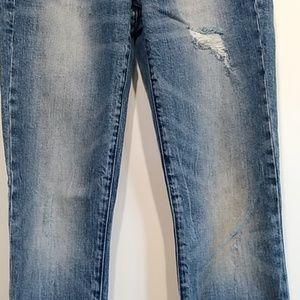 always skinny Jeans - Always skinny distressed maternity jeans